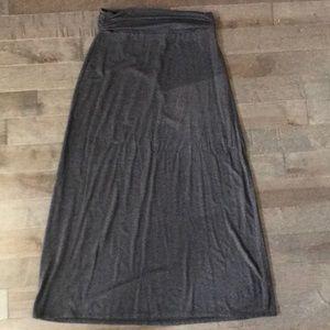JCrew cotton maxi skirt
